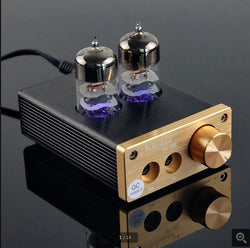 Portable Hi-Fi Stereo Headphone Amplifier Hybrid with 6J9 Vacuum Tube