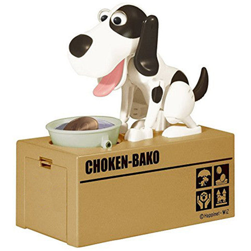 Adorable Dog Coin Bank