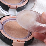 Silicone Cosmetic Puff Sponge Face Foundation Makeup Puff