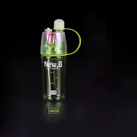 Drinking Bottle with Mist Spray for Summer and Sports