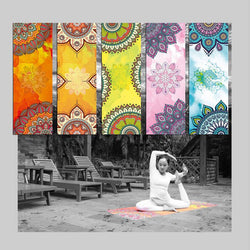 Premium Printed Yoga Towel