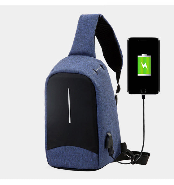 Securepack™ Best Anti-Theft USB Charging Travel Crossbody Bag