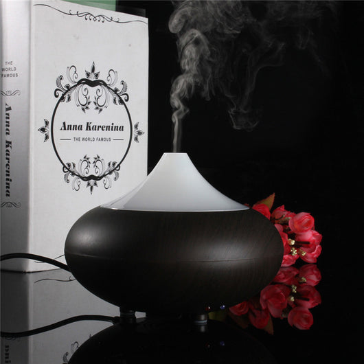 High Quality 100ML Wood Grain LED Ultrasonic Aroma Diffuser