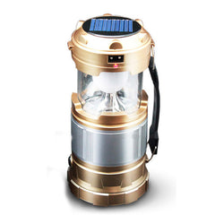 Emergency Solar Powered Collapsible Lamp for Hiking,Emergencies,Hurricanes,Outages & Storms