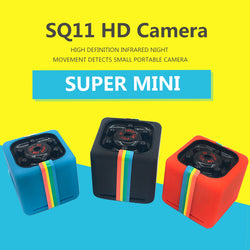 Portable SQ11 HD 1080P Car Home CMOS Sensor Night Vision Camcorder Micro Cameras Camera DVR DV Motion Recorder Camcorder