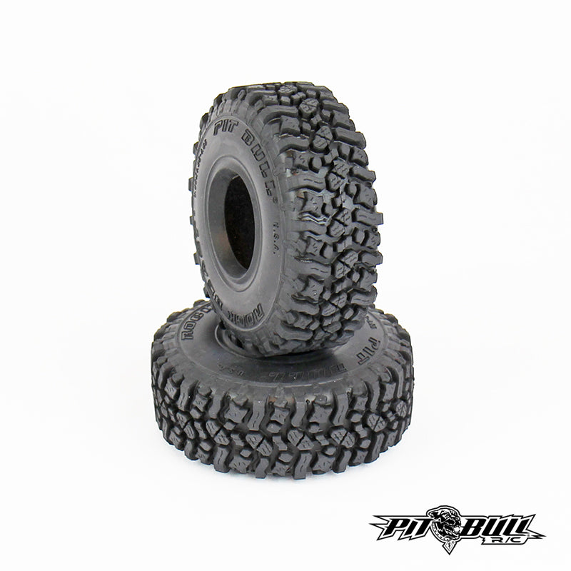 PB9013AK - PITBULL ROCK BEAST 1.55 SCALE RC TIRES (ALIEN KOMPOUND) W/FOAM - 2pcs