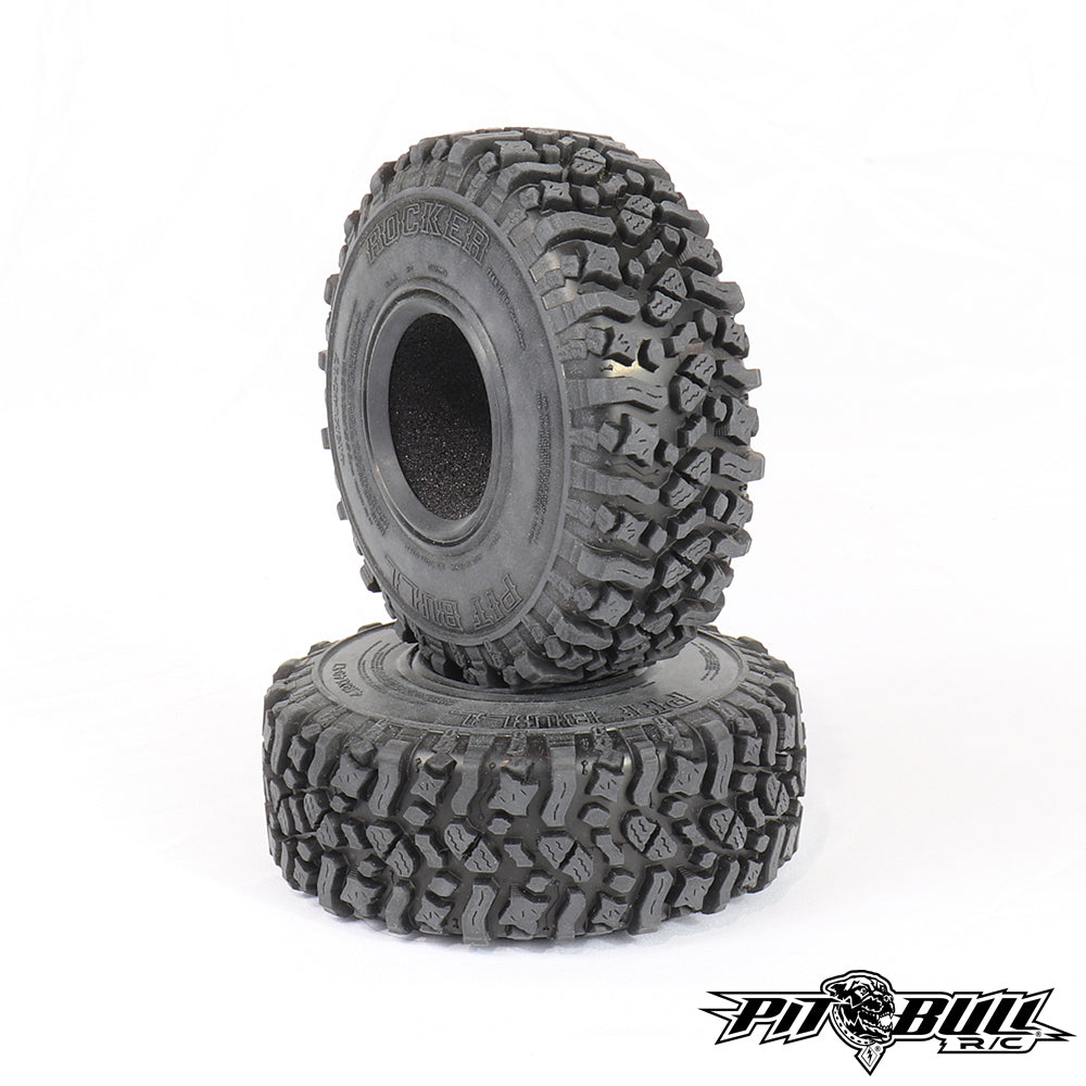 PB9025AK - PIT BULL - 1.7 ROCKER - SCALE RC TIRES (ALIEN KOMPOUND) W/FOAM - 2pcs