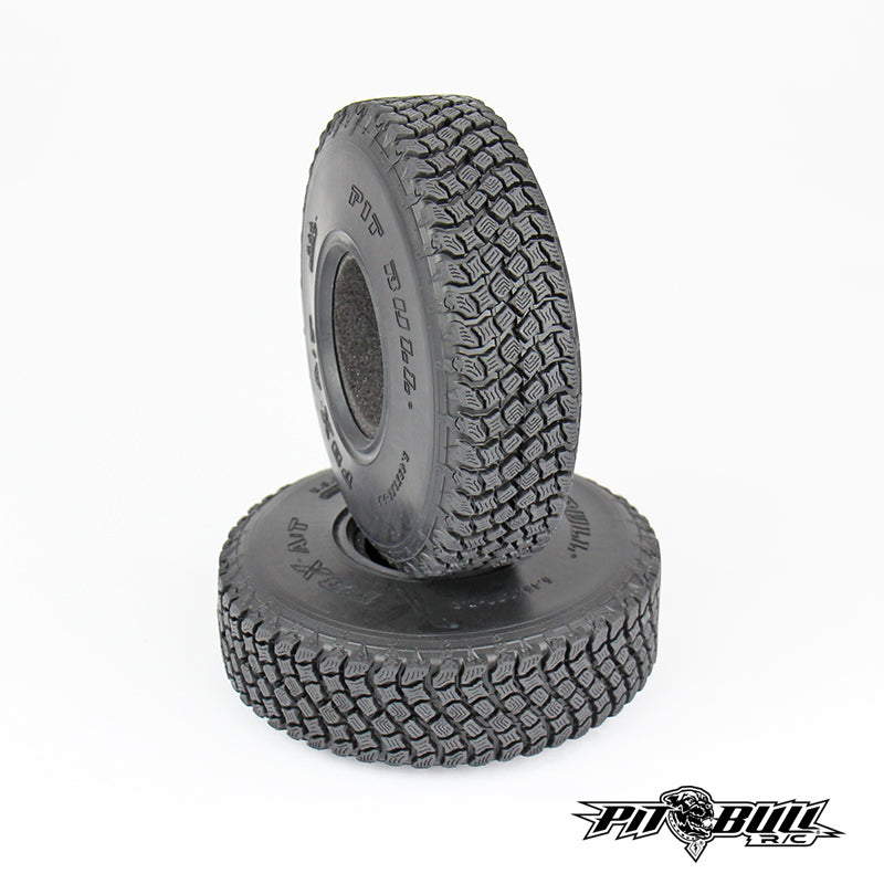 PB9012AK - PITBULL PBX A/T HARDCORE 2.2 SCALE RC TIRES (ALIEN KOMPOUND) W/FOAM - 2pcs