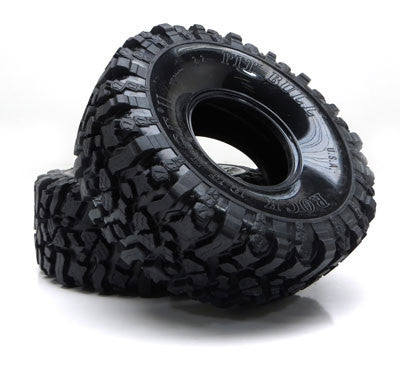 PB9002NK - PIT BULL - 2.2 ROCK BEAST II SCALE RC TIRES // KOMP KOMPOUND // NO FOAM - 2pcs