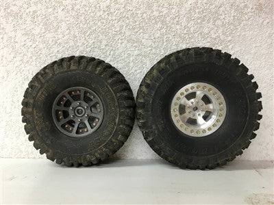 PB9011NK - PIT BULL - 1.9 ROCK BEAST XL SCALE RC TIRES (ALIEN KOMPOUND) W/FOAM - 2pcs