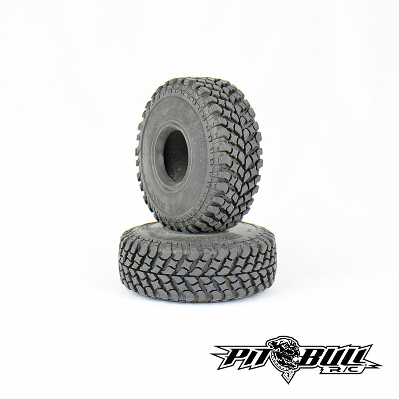 PB9005AK - PIT BULL - 1.55 GROWLER AT/Extra R/C Scale Tires // ALIEN KOMPOUND // Foam - 2pcs