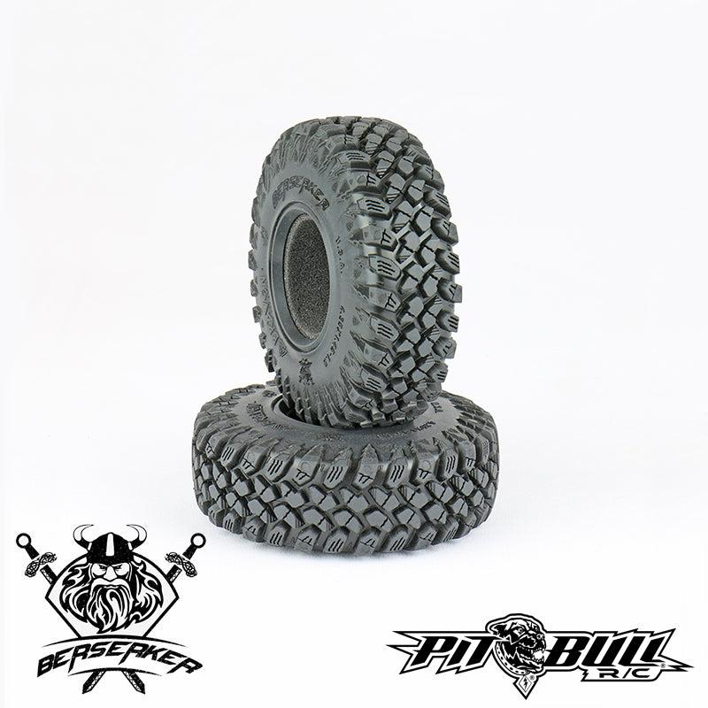 PB9017AK - BRAVEN BERSERKER 4.35X1.45-1.9 SCALE RC / ALIEN KOMPOUND / w/Foam (2 tires & 2Foams)