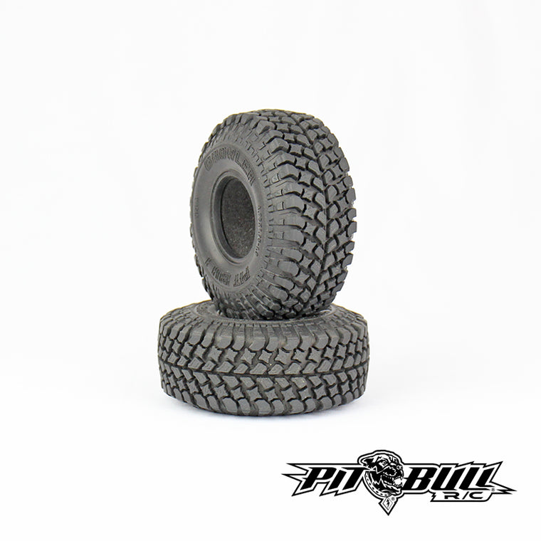 PB9006NK - PIT BULL - 1.9 GROWLER AT/Extra R/C Scale Tires // KOMP KOMPOUND // 2 Stage Foam - 2pcs