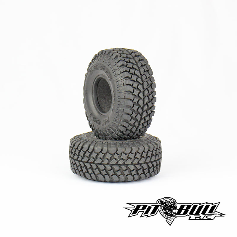 PB9006NK - PIT BULL - 1.9 GROWLER AT/Extra R/C Scale Tires // KOMP KOMPOUND // 2 Standard Foam - 2pcs