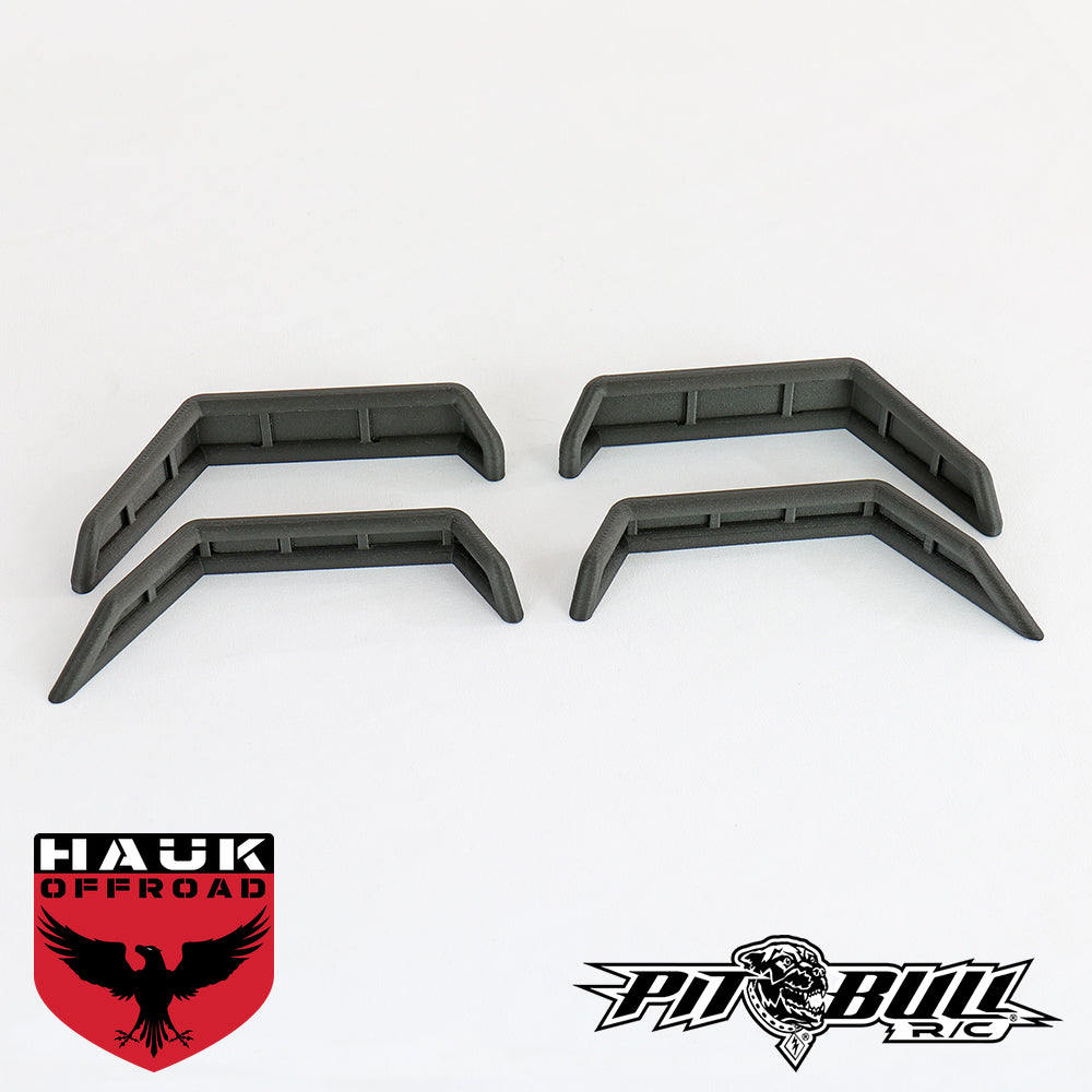HAUK FENDER FLARES - AXIAL JEEP BODY (4 PER PACK) PBH05