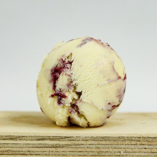 Blueberry Crumble Ice Cream