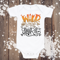 Wild little girl bodysuit