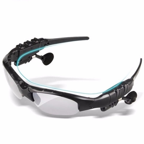 Bluetooth Hands Free Sunglasses Headset For iPhone/Samsung
