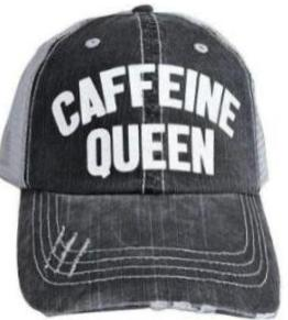 Trucker Hat- Caffeine Queen