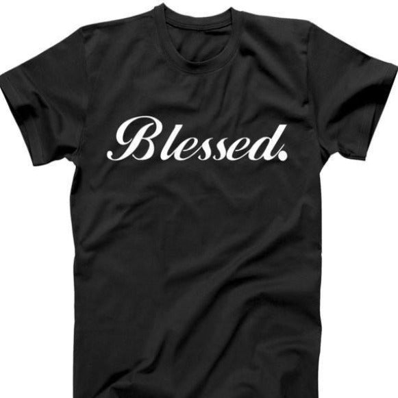 Men's Tee- Blessed