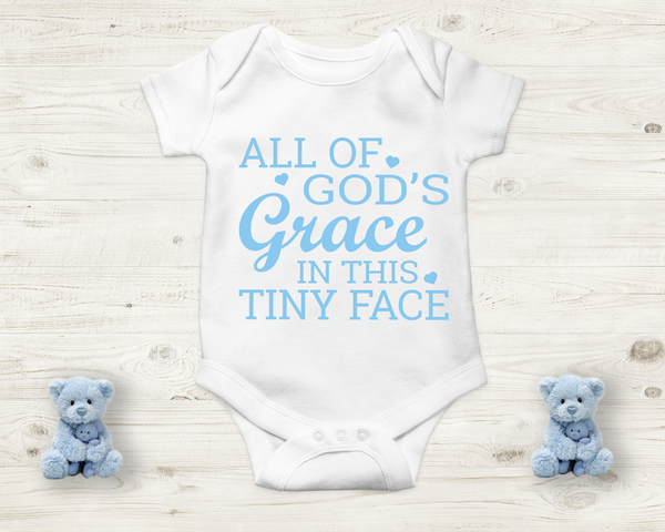 Baby Onesie- All of God's Grace in this Tiny face