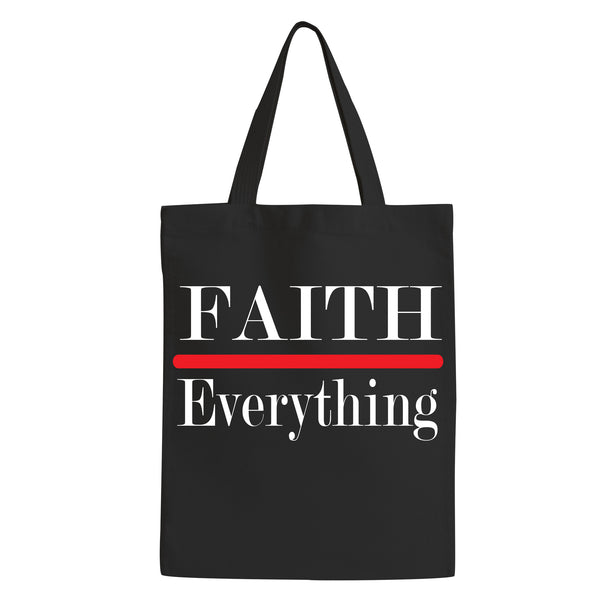 Tote Bag-  Faith Over Everything
