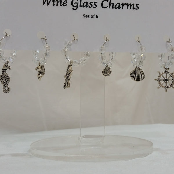 Wine Glass Charms - Sea