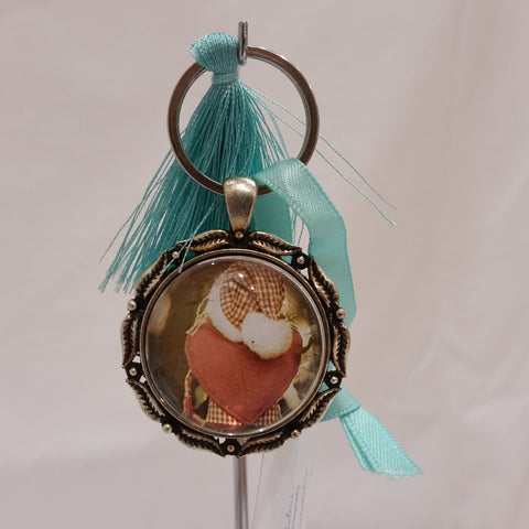 Keyrings - Old Dolly Heart