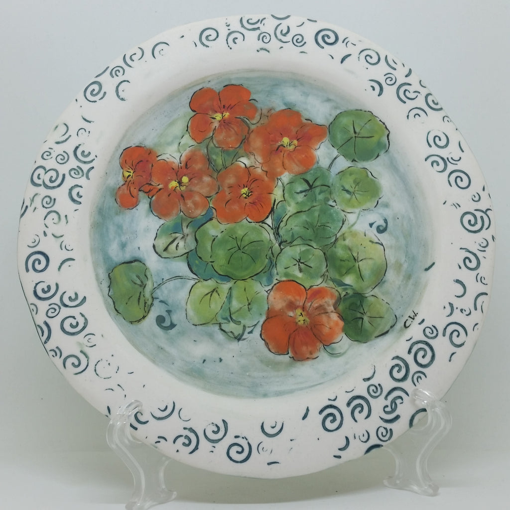 Plate - Bright Flowers