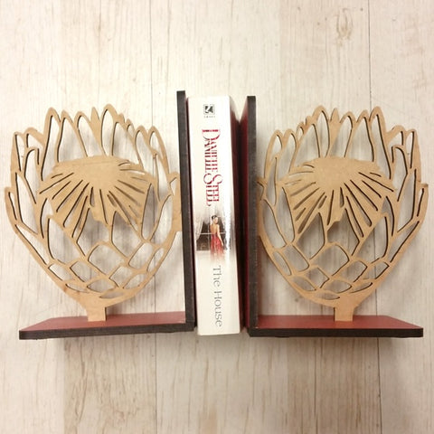 Book Ends - Protea