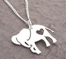 Necklace - Silver Elephant