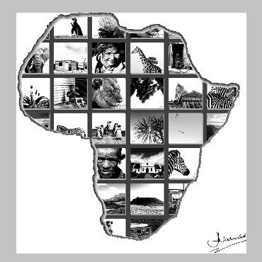 Picture Blocks - Africa, Animals, Trees and Hearts