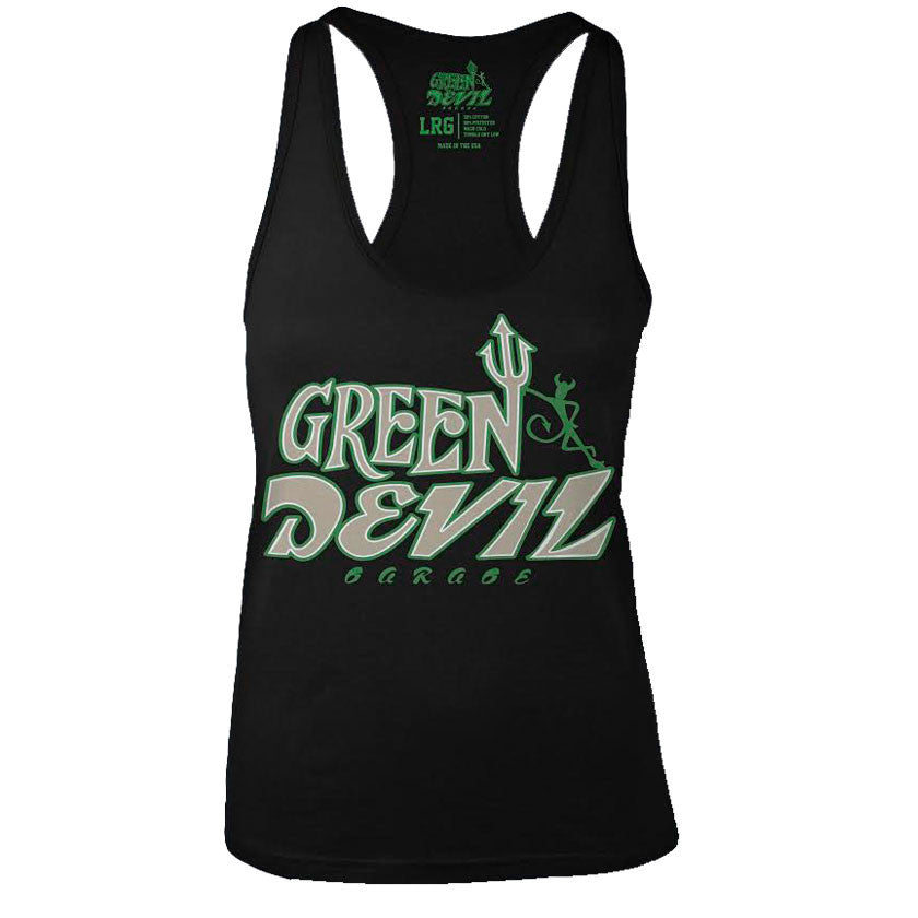 GREEN DEVIL WOMEN'S TANK TOP