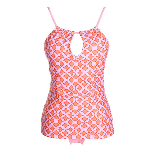 Tribal Printed Tankini