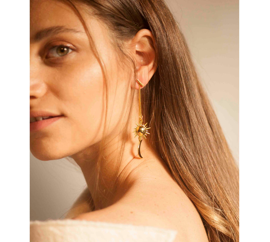 Peggy Earrings in Gold