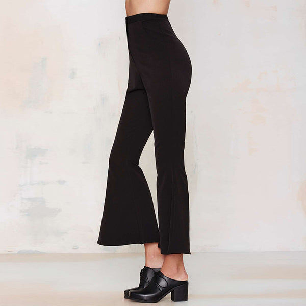 Black flare Carpis Pants,  - By Classier