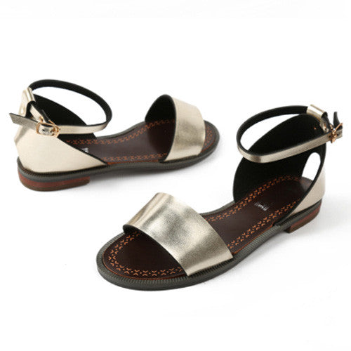 Loopie Solid Sandals,  - By Classier