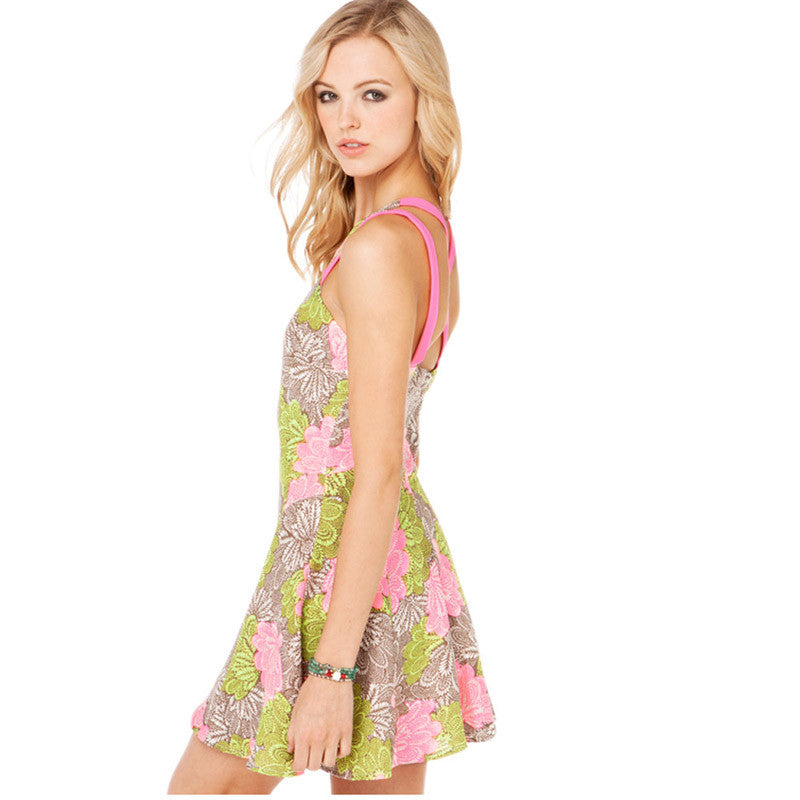 Cartella Floral Printed Dress, Dresses - By Classier