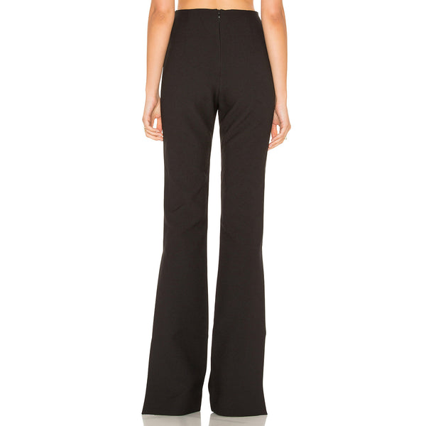 Split Flare High Waist Slim Pants,  - By Classier