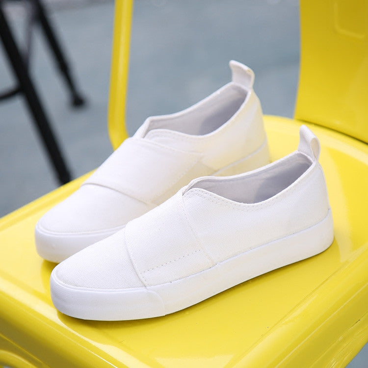 Faccia Clean Canvas Sneakers,  - By Classier