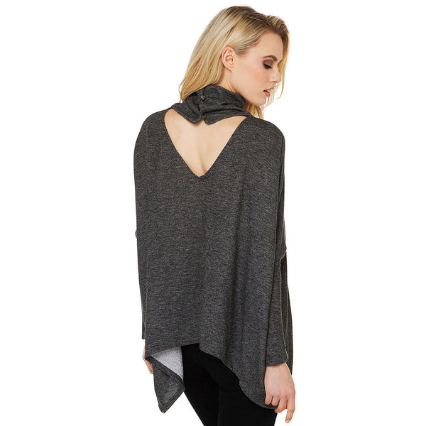 Batwing Sleeve Pullover Top,  - By Classier