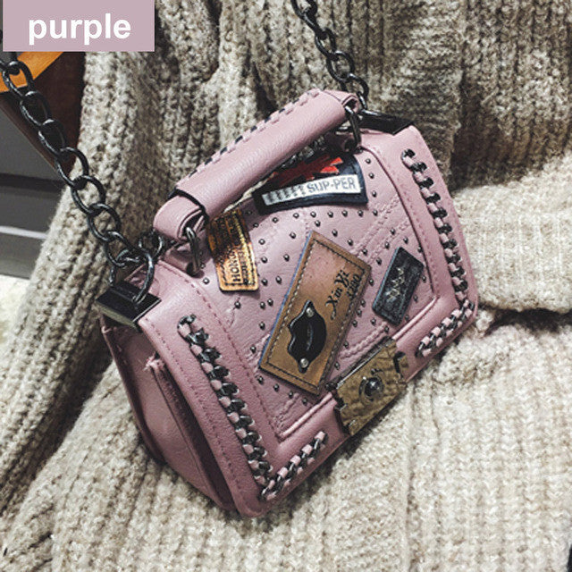 Pretty Pins Crossbody Bag,  - By Classier
