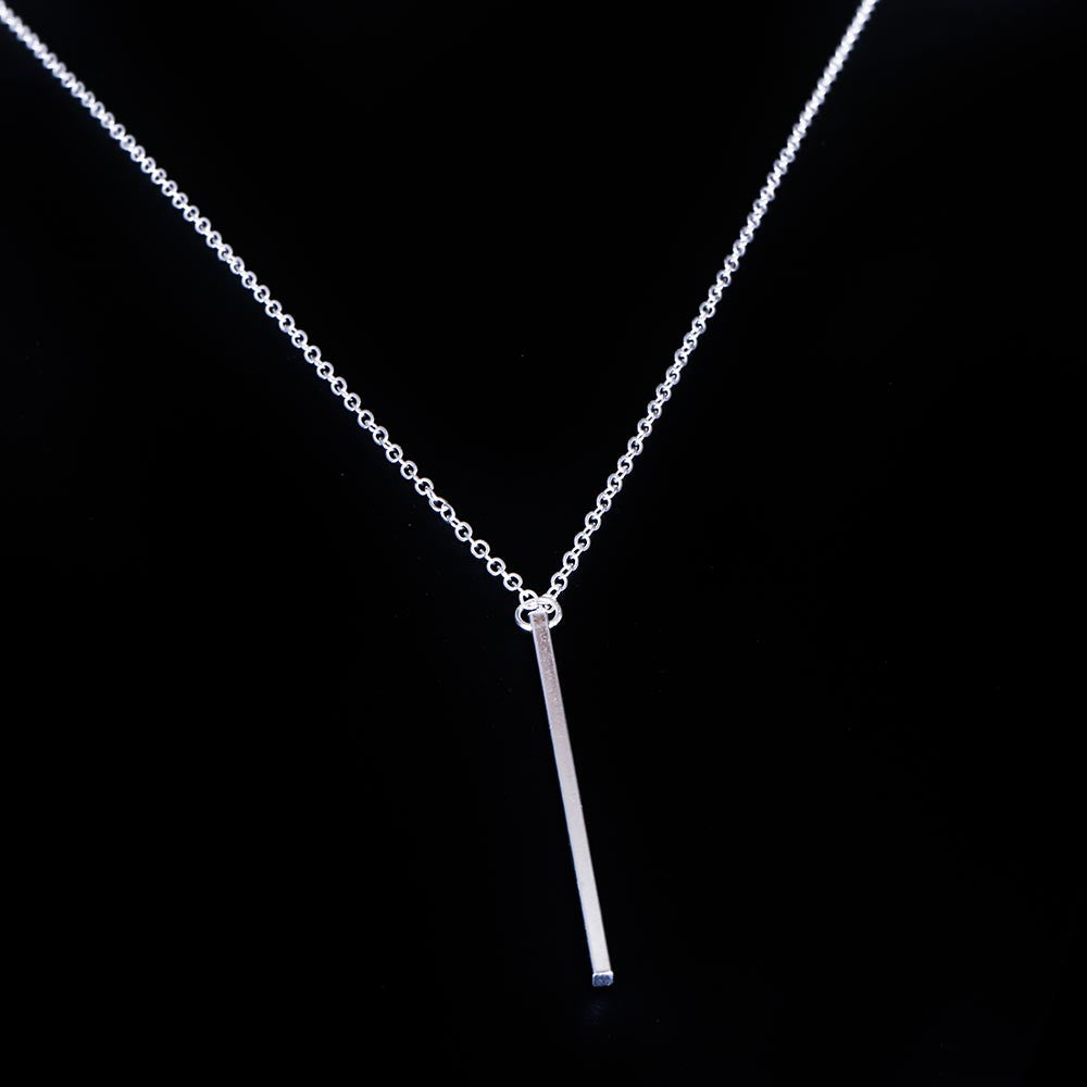 Lariat Charm Tomtosh Bar Pendant Necklace