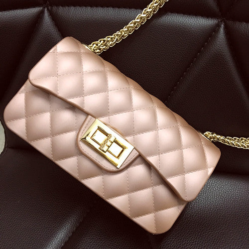 Bolsa Chain Crossbody Small Silicon Bag