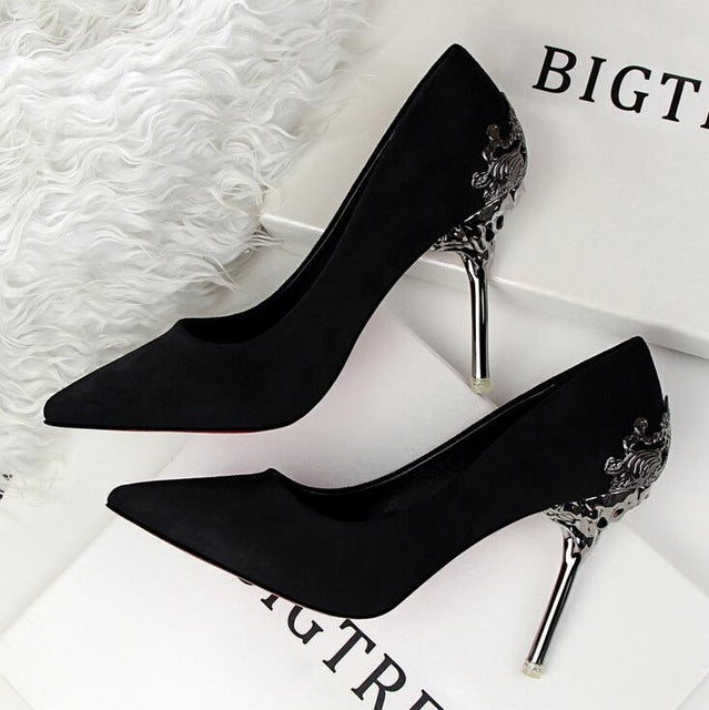 Elegant Pump Pointed Toe High Heels