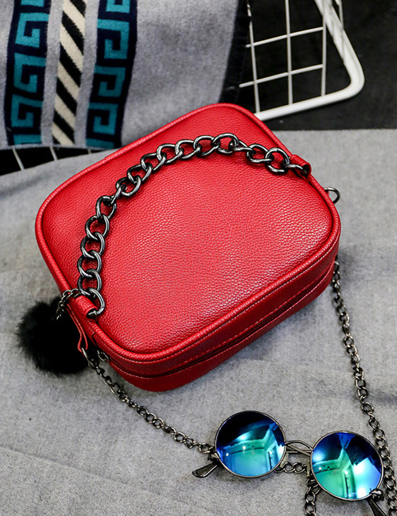 Soft Leather Fashion Women Clutch Bag