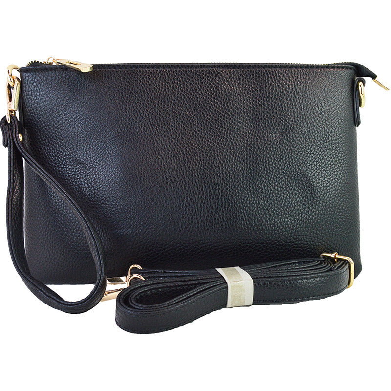 Back to Black Crossbody