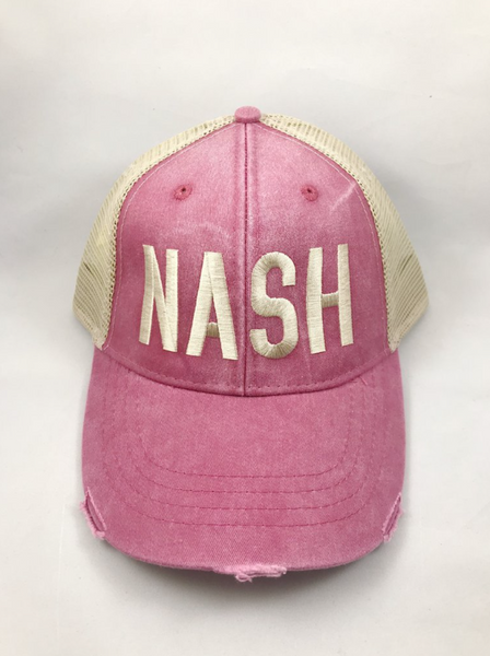 Distressed NASH Hat