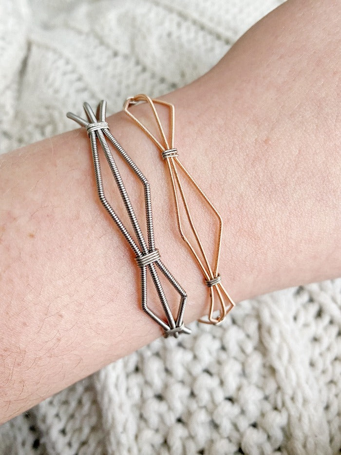 Moonlight Drive Guitar String Bracelet