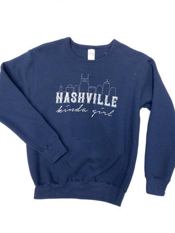 Nashville Kinda Girl Crewneck